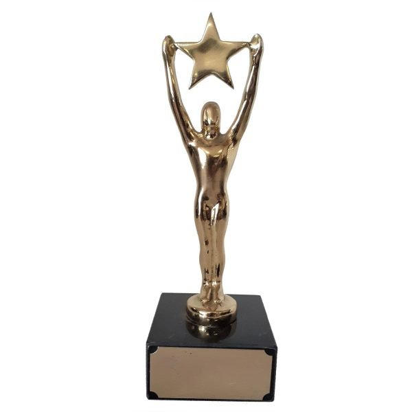 Small Starman Achievement Award Solid Metal