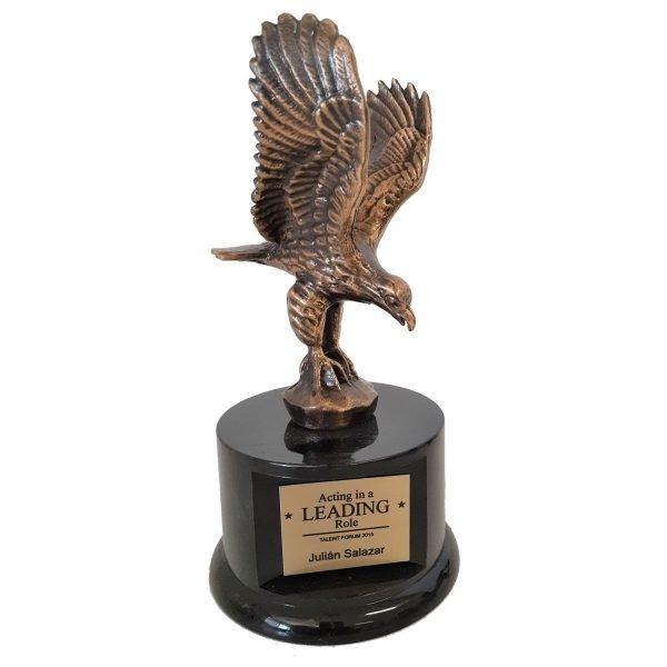 Landing Eagle Award Solid Metal