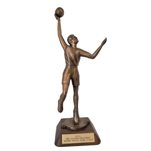Colossal Male Basketball Solid Metal