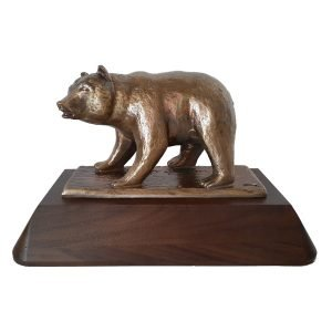 Grizzly Bear Award Solid Metal