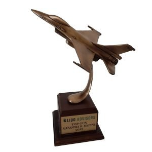 Top Gun Award Solid Metal