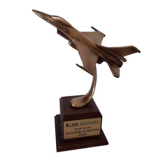 Top Gun Award Solid Metal