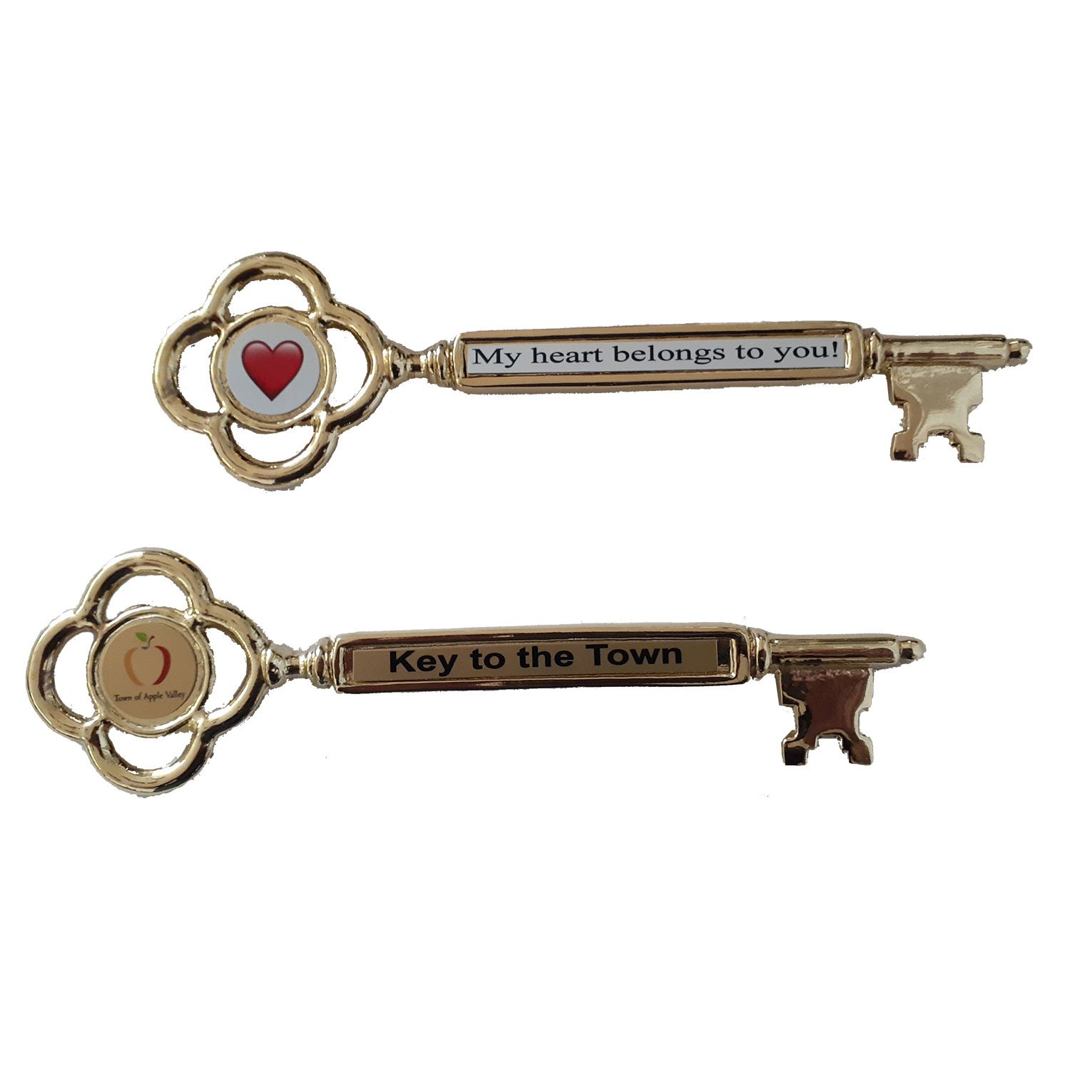 Classic Key to the City Solid Metal