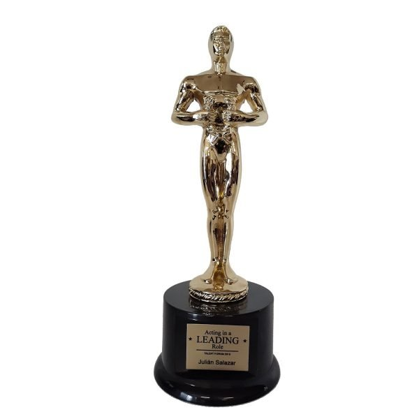 Large Classic Achievement Award Solid Metal