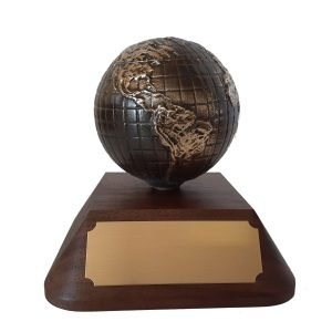 Global Partnership Award Solid Metal