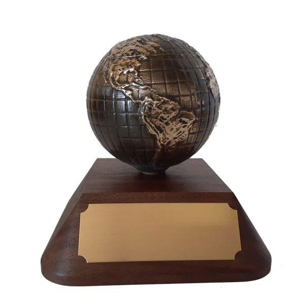 Global Partnership Award Solid Metal