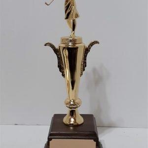 Championship Golf Trophy Solid Metal