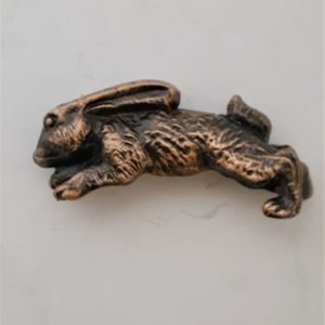 Bunny Rabbit Cabinet Pull Solid Metal