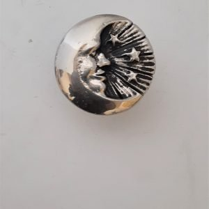 Man In The Moon Cabinet Knob Solid Metal