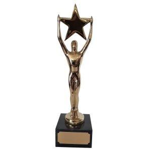 Large Starman Achievement Award Solid Metal