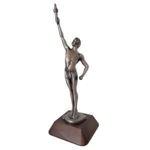 Classic Male Achievement Award Solid Metal