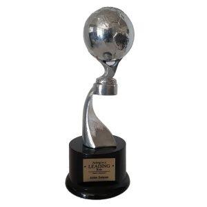 Global Achievement Award Solid Metal