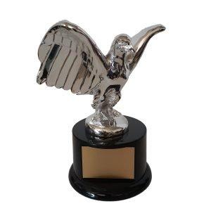Art Nouveau Style Eagle award Solid Metal