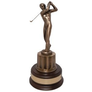 Pebble Beach Quality Golf Award Solid Metal