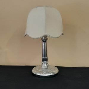 Art Deco Chrome lamp Solid Metal