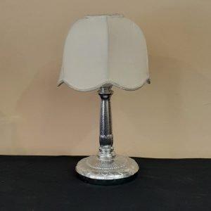 Art Deco Chrome lamp Solid Metal