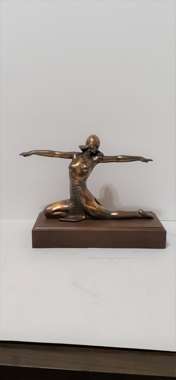 Art Deco Collectible Figure Solid Metal