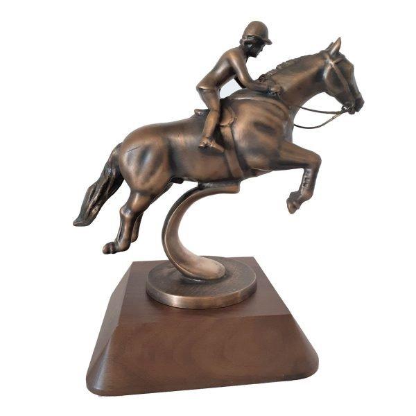 Hunter Jumper Award Solid Metal