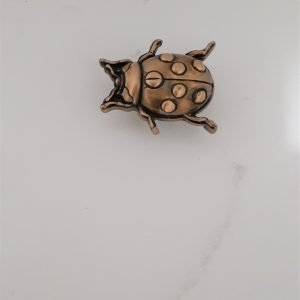 Lady Bug Cabinet Knob Solid Metal