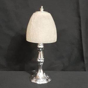 Chrome Bedside Lamp Solid Metal